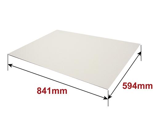 白板ダンボール A1サイズ [ 841×594mm ] 1.5mm厚