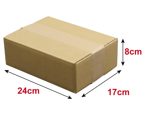 【宅配60サイズ】 浅型ダンボール箱 (FD09)