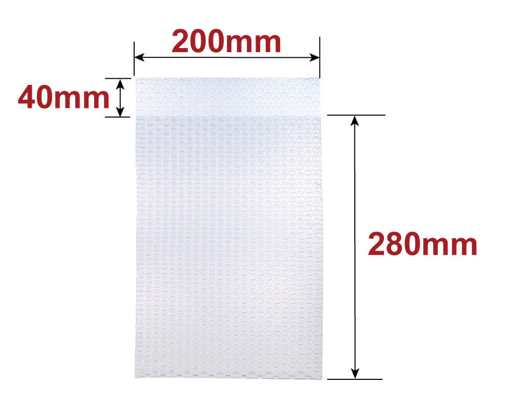 プチプチ袋 B5サイズ [ 200×280+40mm ] (KF05)