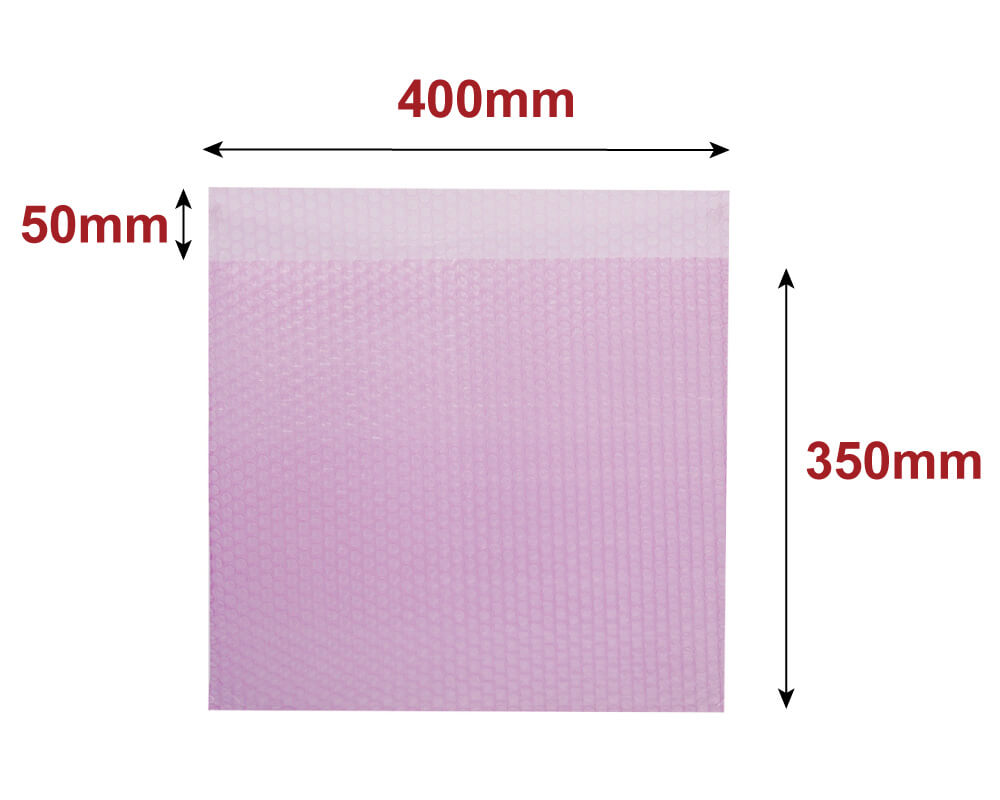 プチプチ袋 ノートパソコン 梱包(静電気防止) 【400×350+50mm】