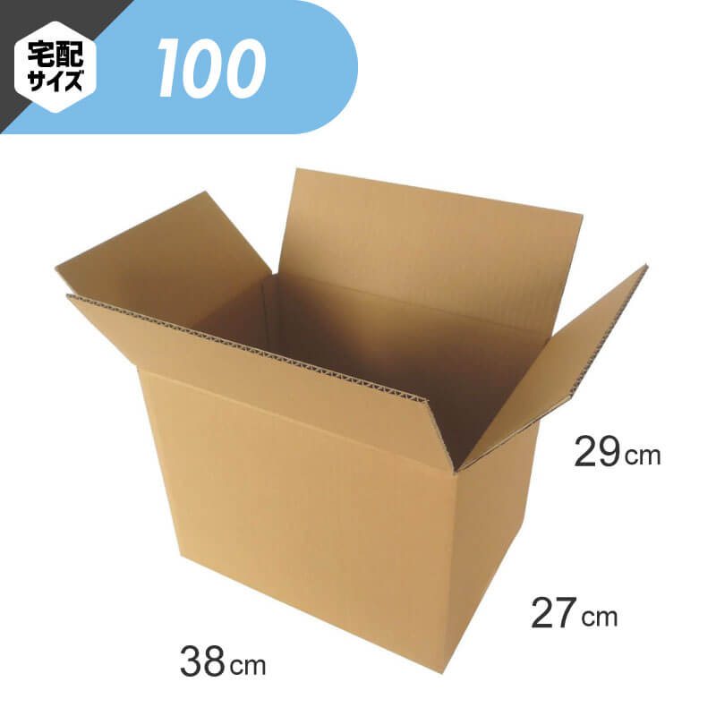 【宅配100サイズ】 定番ダンボール箱 (FD06a)