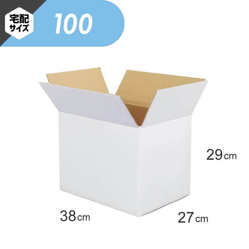 【宅配100サイズ】 白ダンボール (FW06)