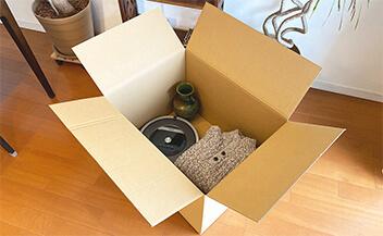 まとめて梱包できる大容量160サイズ段ボール箱